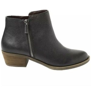 Kensie Women's Leather Ghita Short Ankle Boots